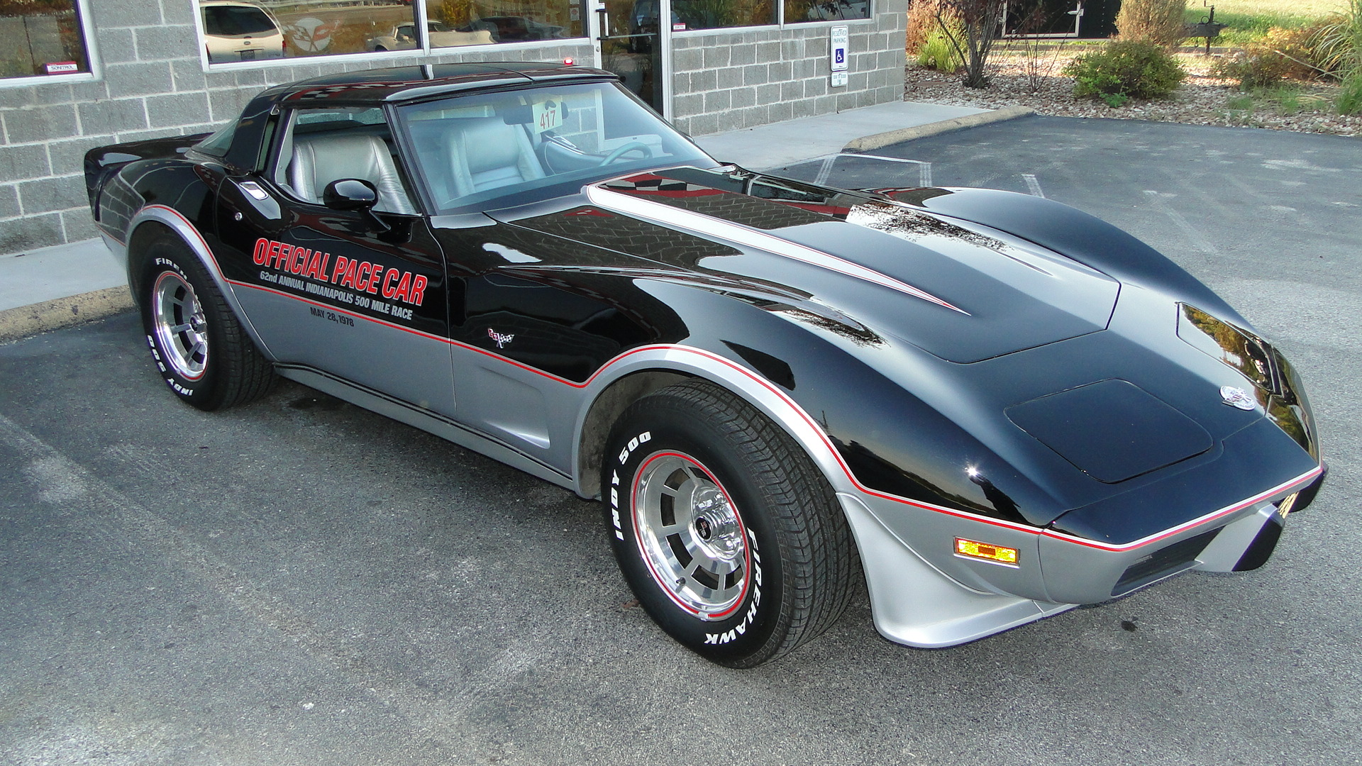1978 Corvette Indy Pace Car